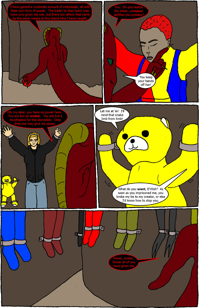Page 3: issue 2 - D'Vlish Attacks